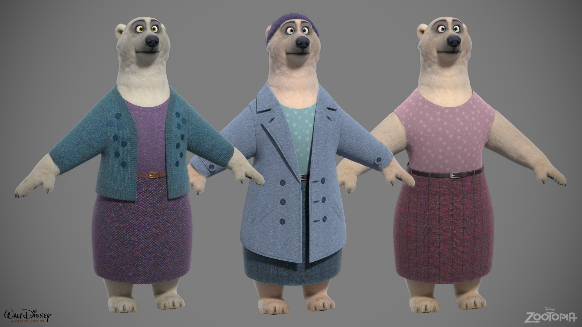 Polar Bears - Female Variants