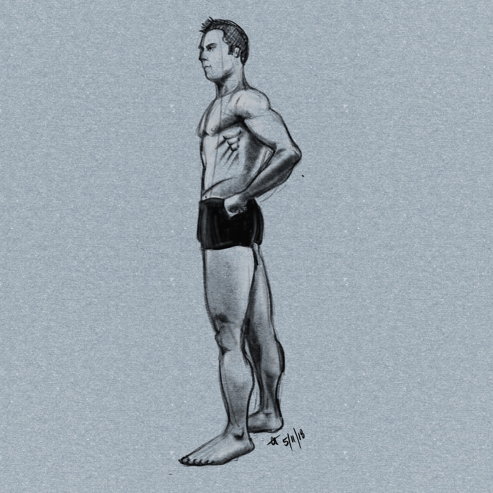 ArtStation   Bodies and Body Parts, Corey Johnston