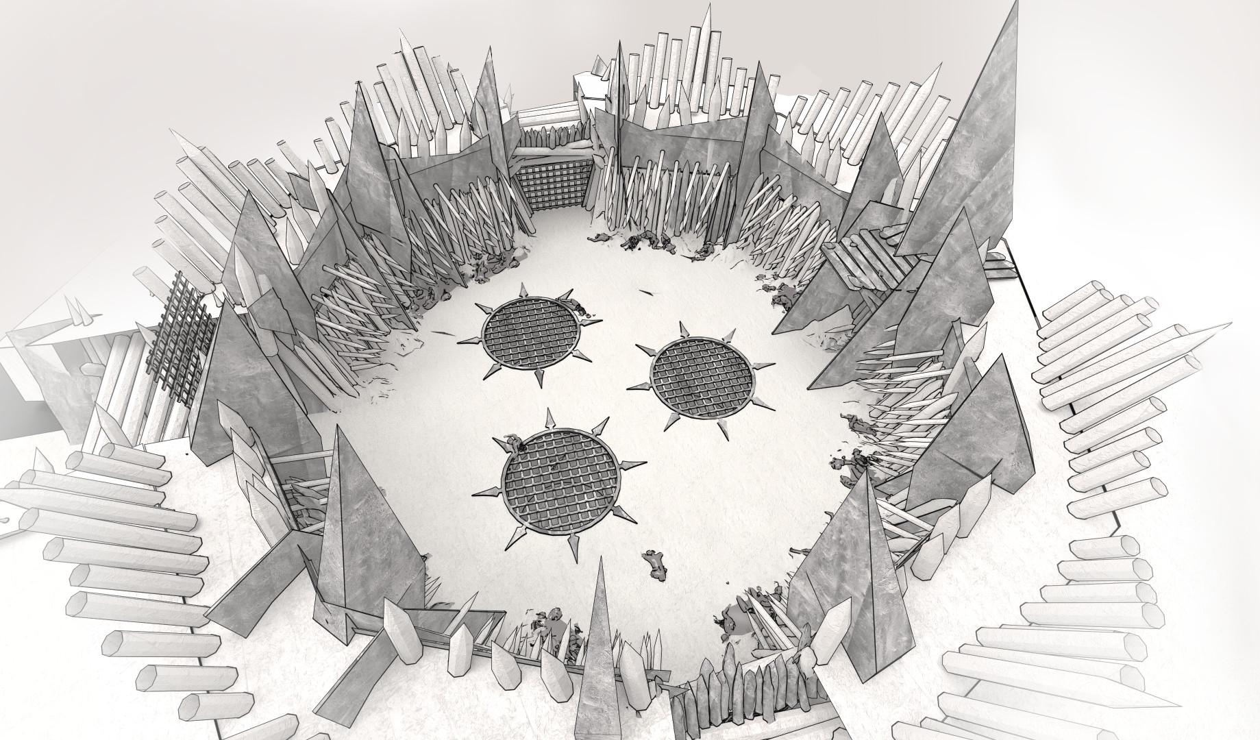 Patrik rosander chaos warcamp arena lines