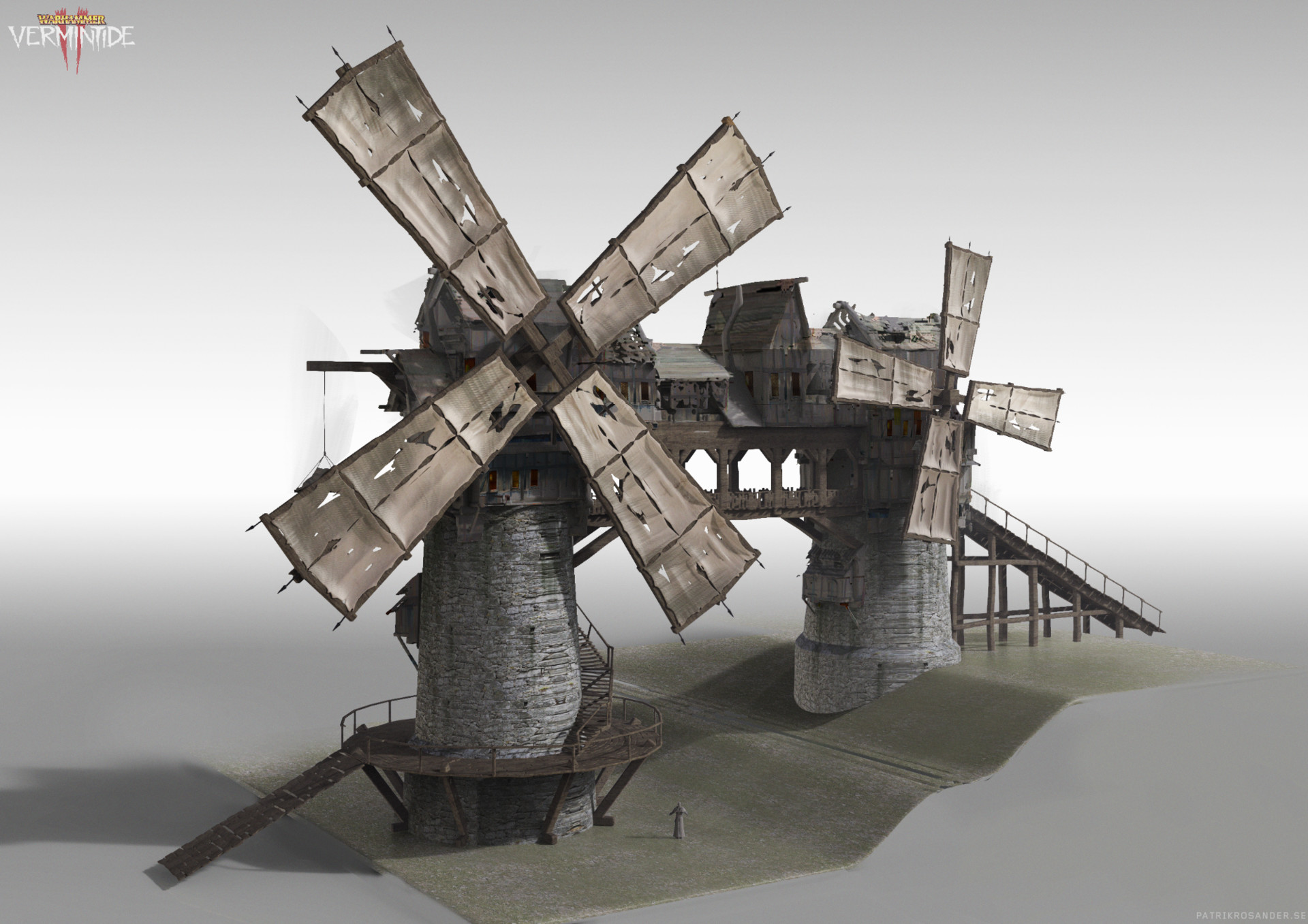 Patrik rosander farmlands double windmill
