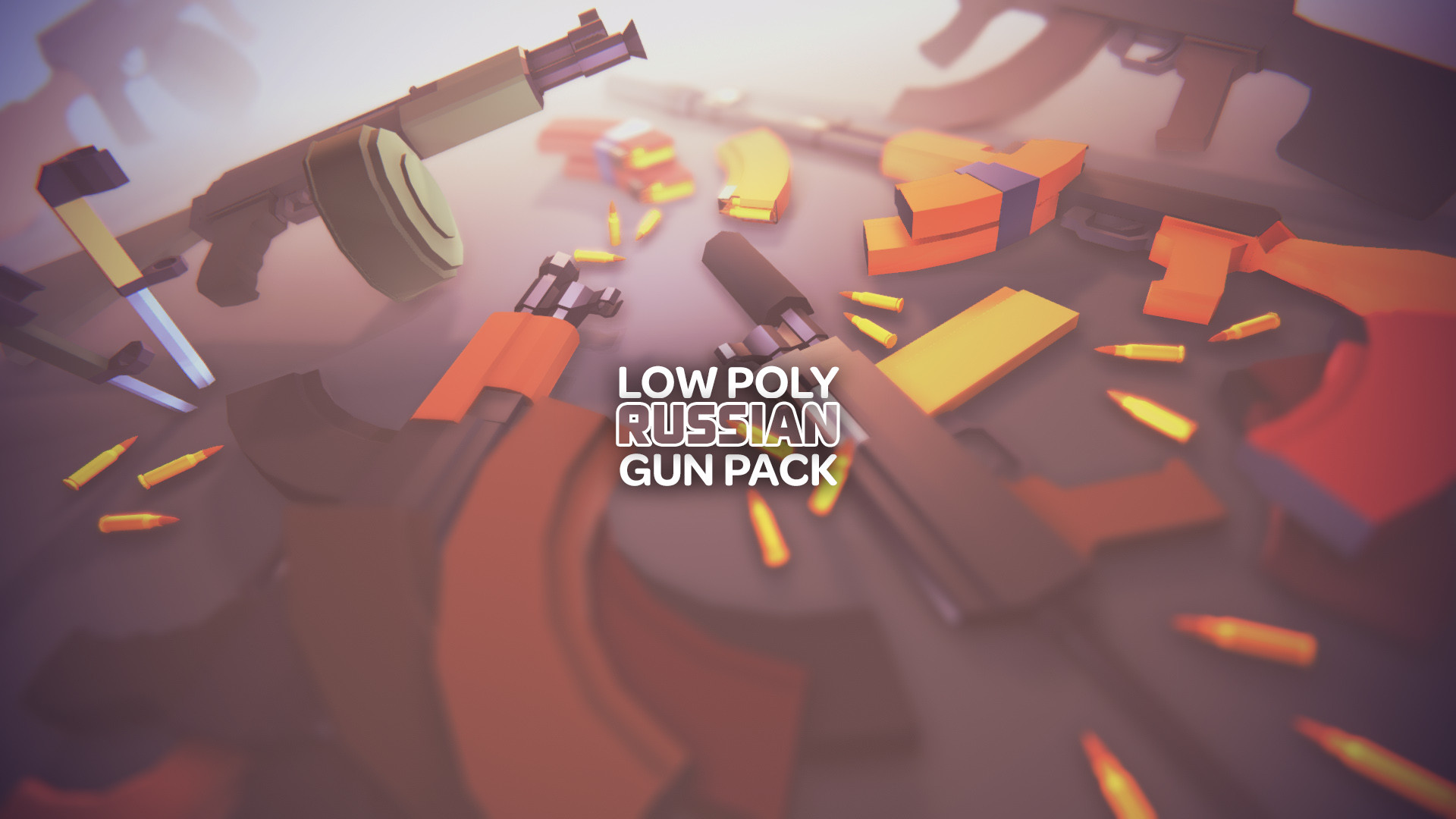 ArtStation - Low Poly Russian Guns Pack - AK (Unity Ready), Den