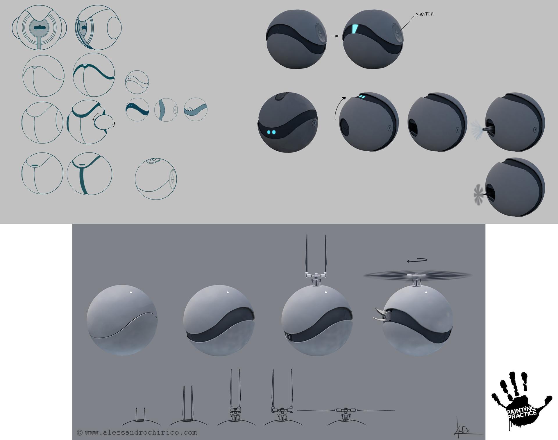 Alessandro chirico 21 sphere drone alessandro chirico