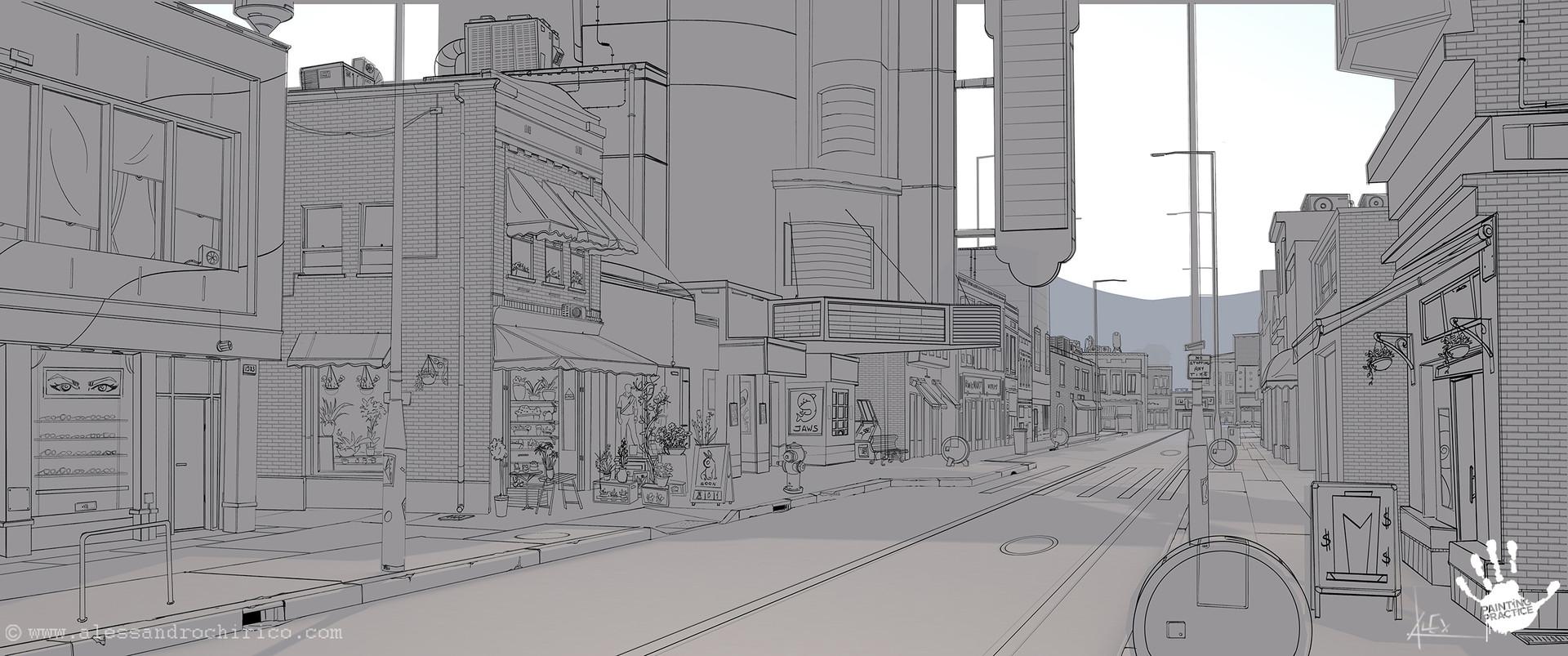 Alessandro chirico 01 street layout alessandro chirico