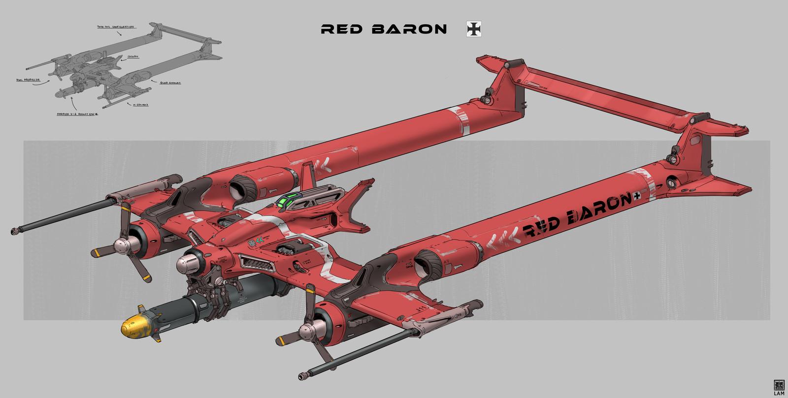 Alternate Red Baron