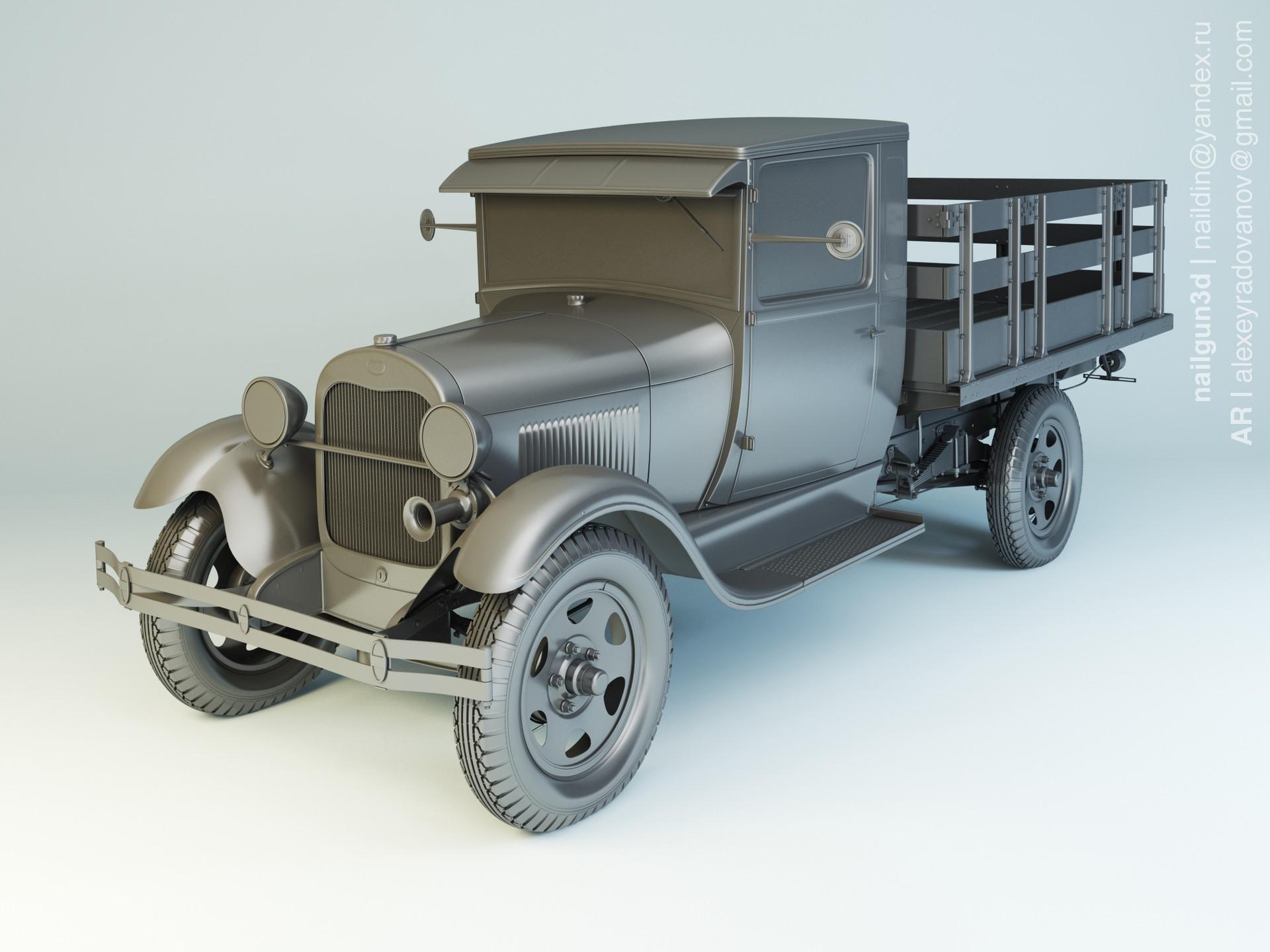 Nail khusnutdinov als 222 003 ford aa 1929 modelling 0