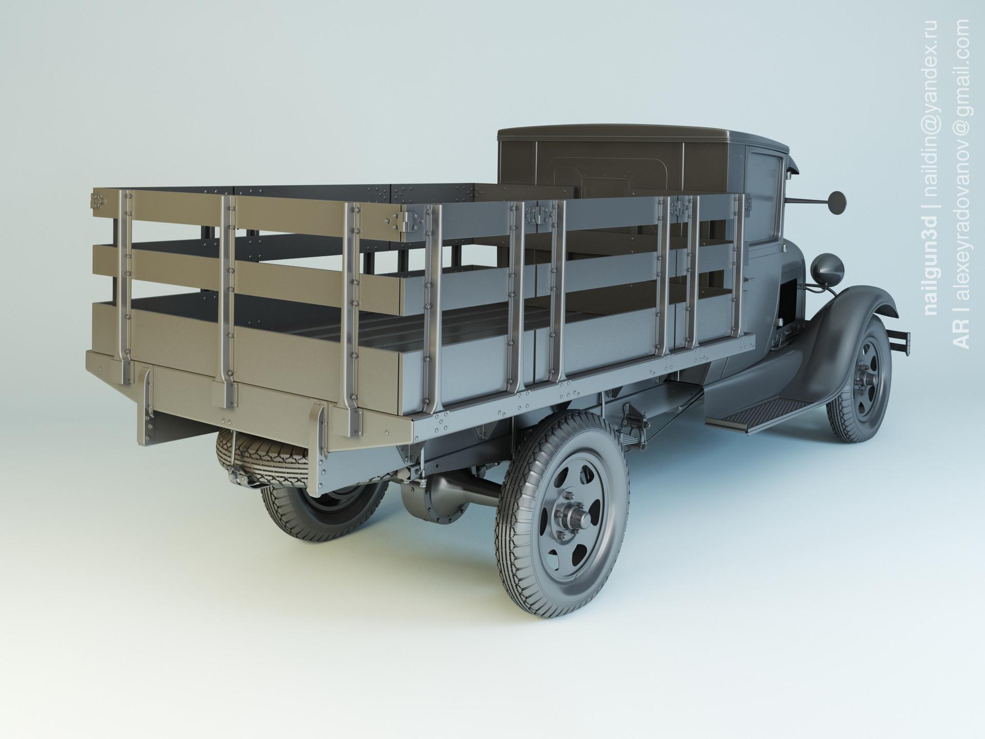Nail khusnutdinov als 222 003 ford aa 1929 modelling 1