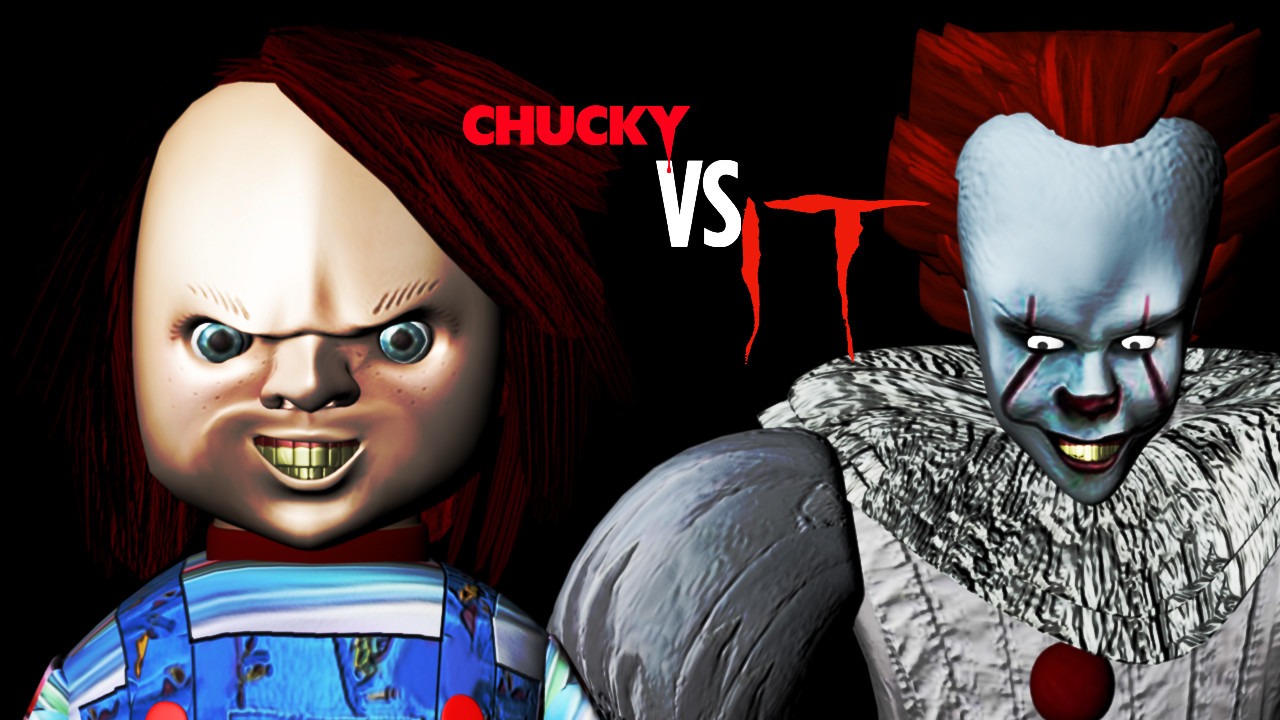 federico ibarra chucky vs penny wise the dancing clown
