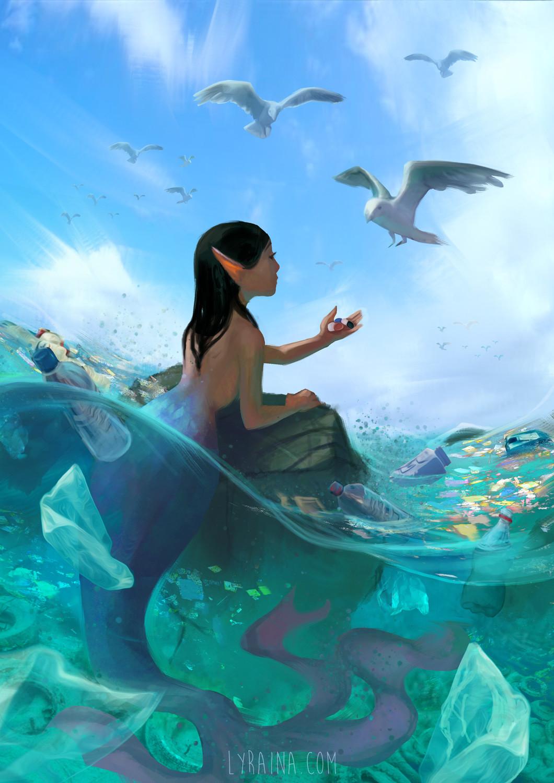 """Trashmaid"" for Environmental Awareness  (Mermay Challenge 2018)"