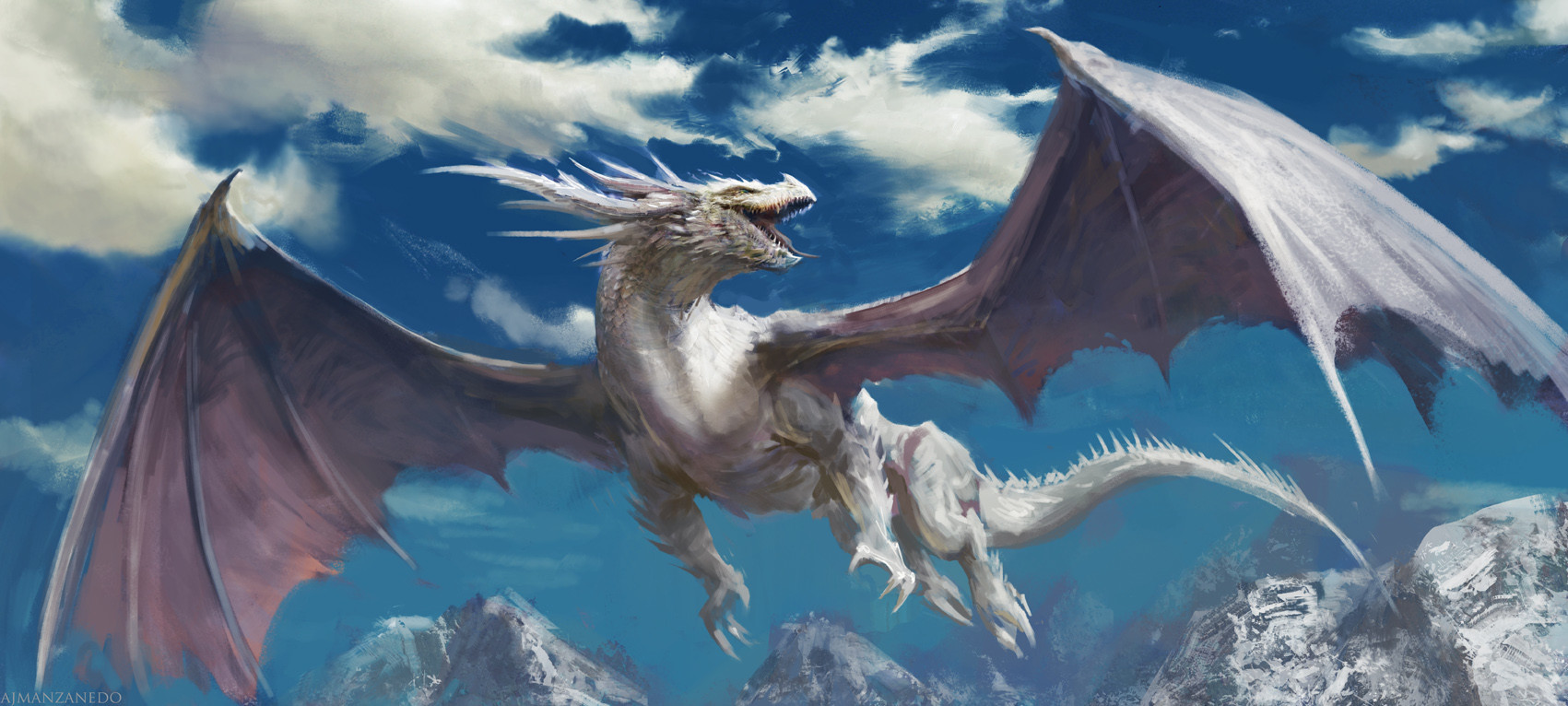 Antonio J. Manzanedo - White Dragon.