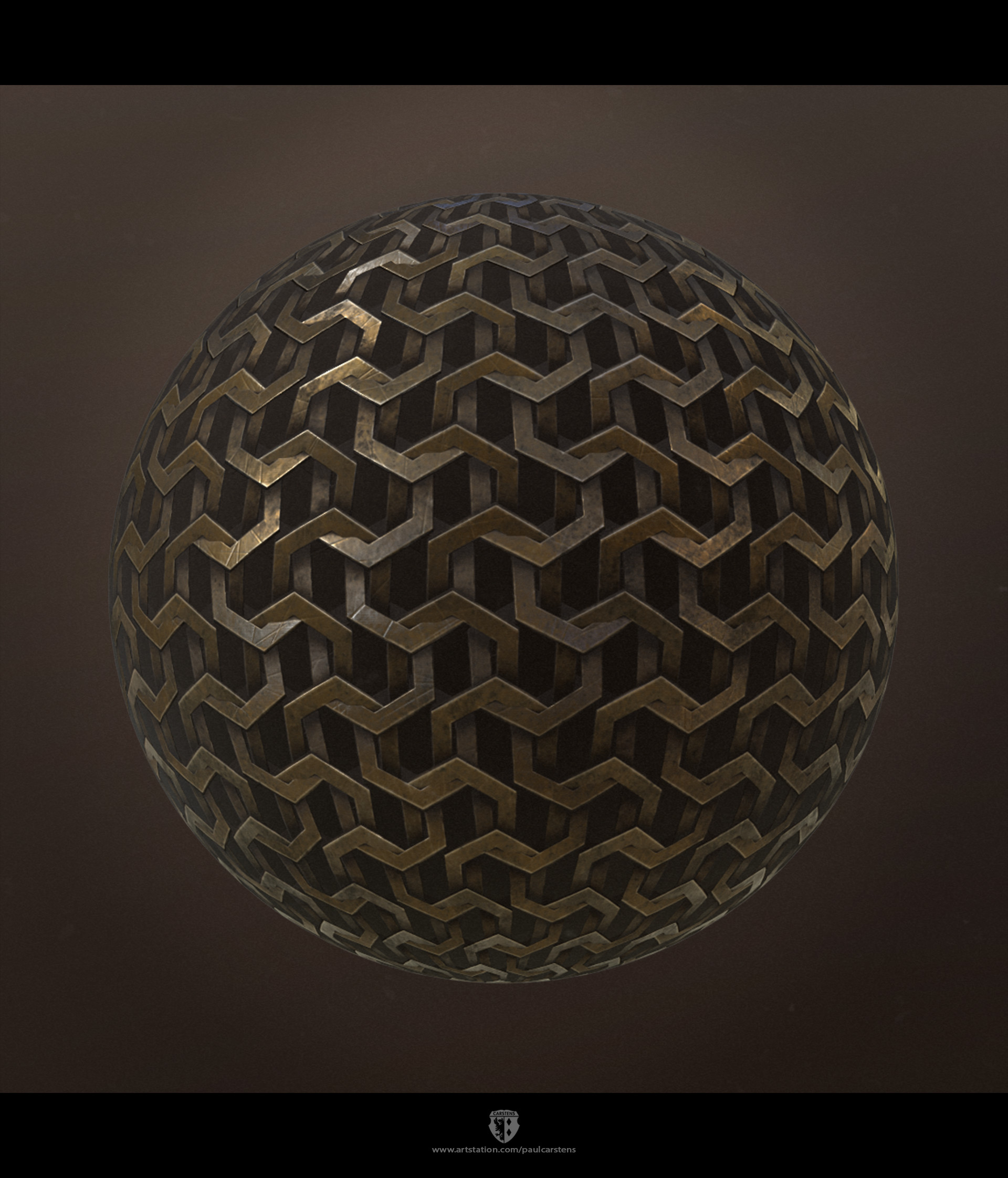 Substance designer chainmail.