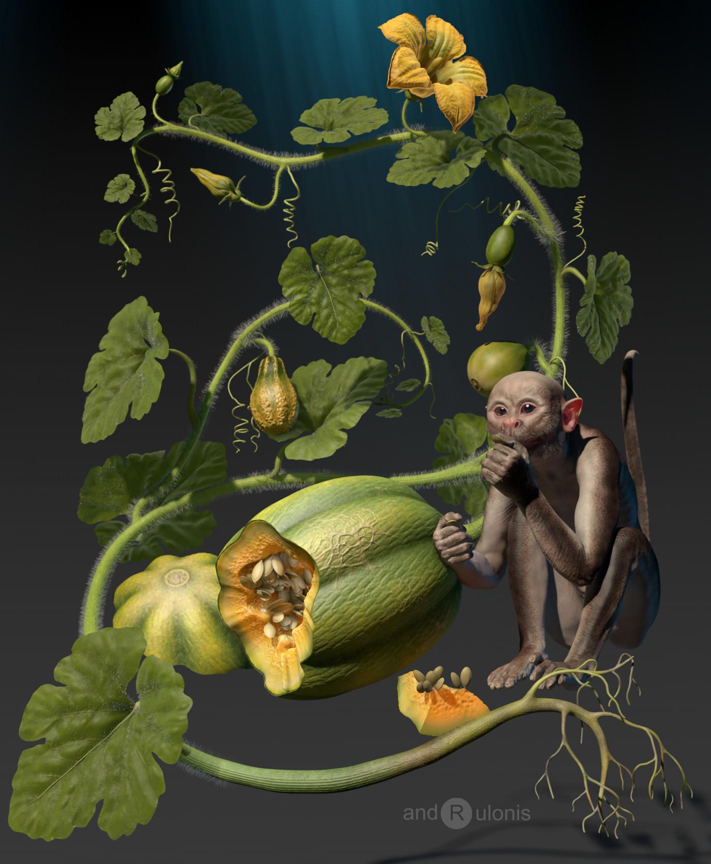 Dariusz andrulonis 01a pumpkin gohst