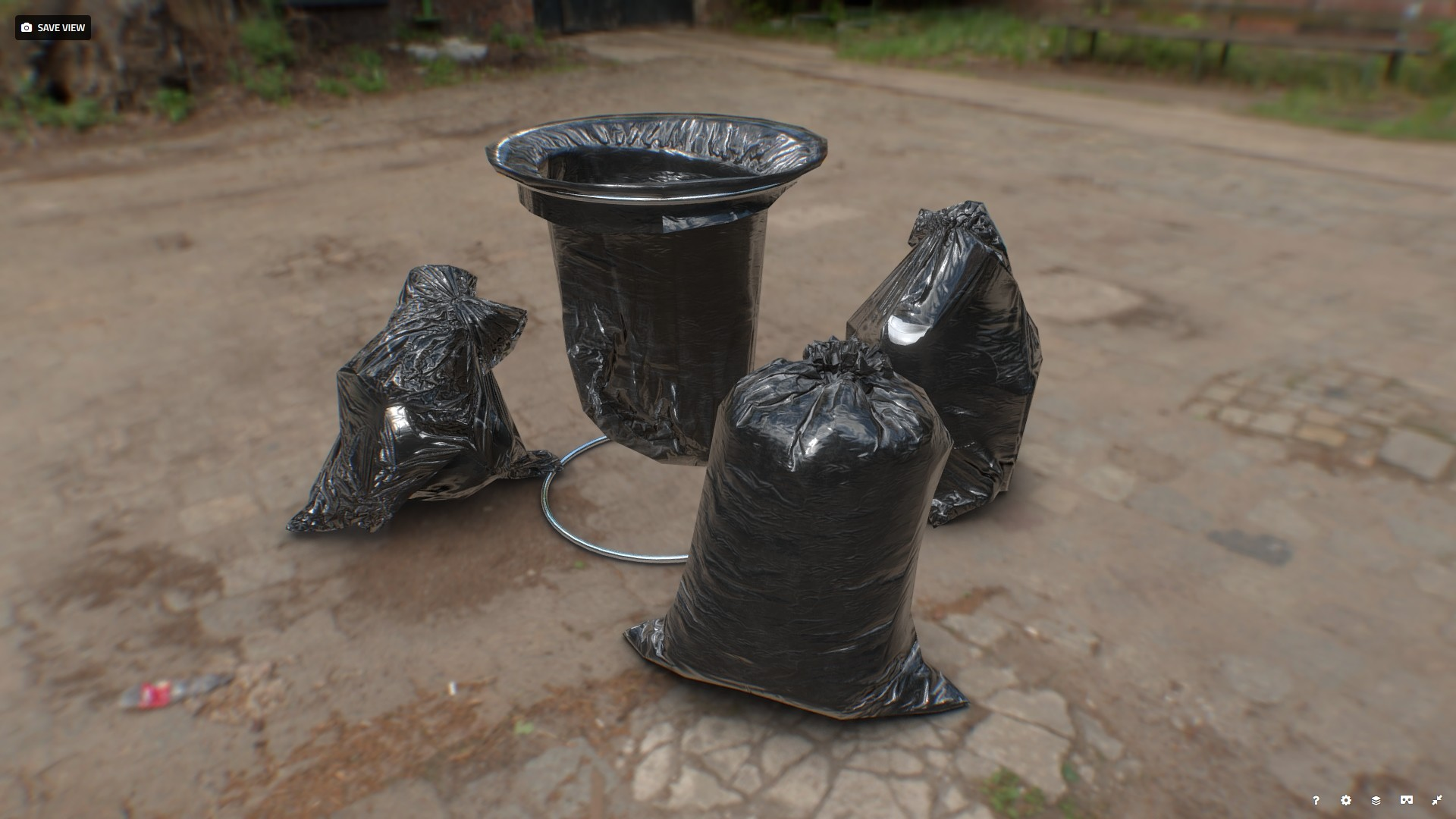 ArtStation - Trash bags, Bohdan Lvov