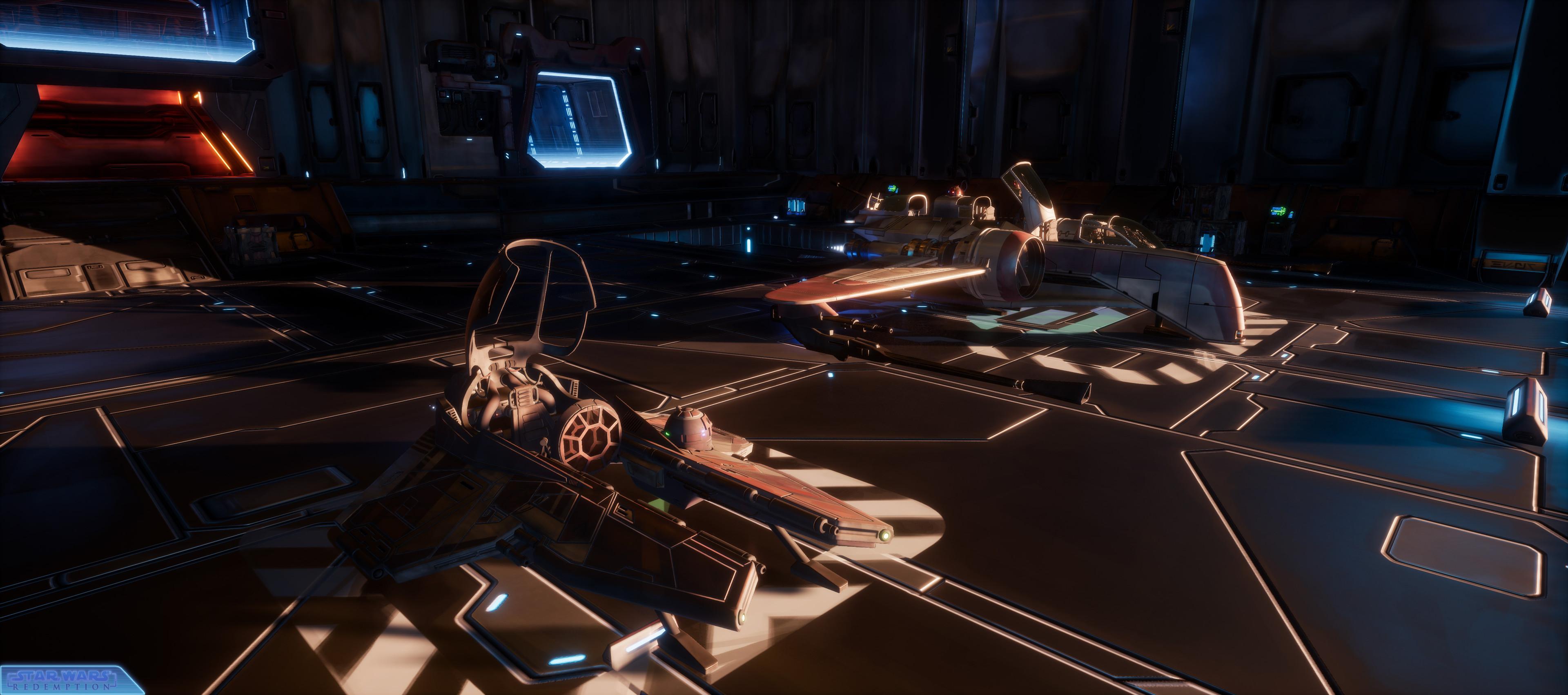 New Hangar ! New Starfighters ^^