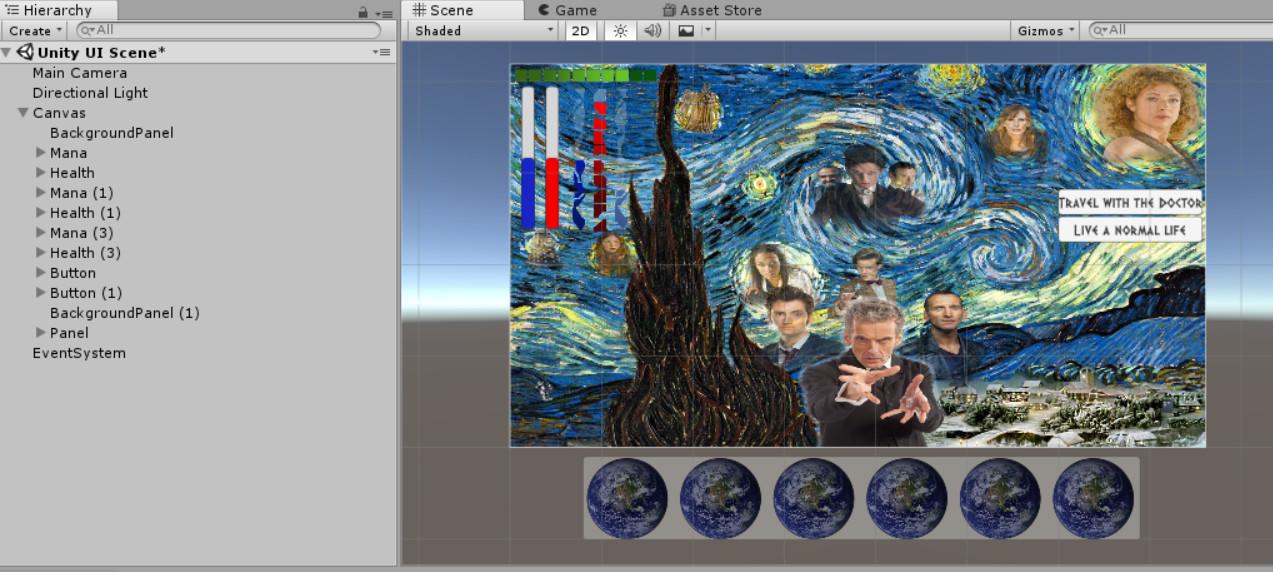 ArtStation - Unity UI, Alisha Bannister-Sarno
