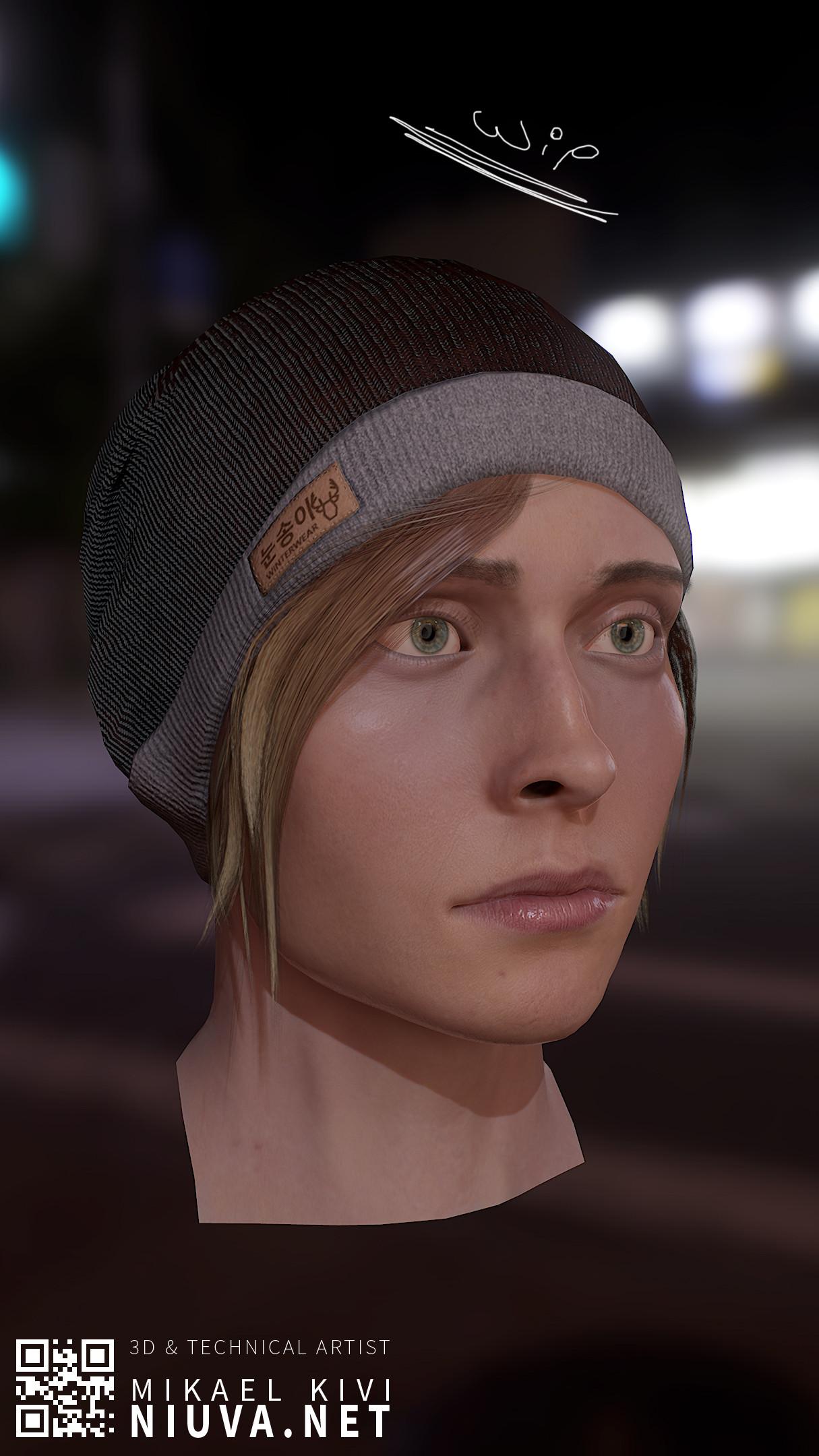 Mikael kivi female face02