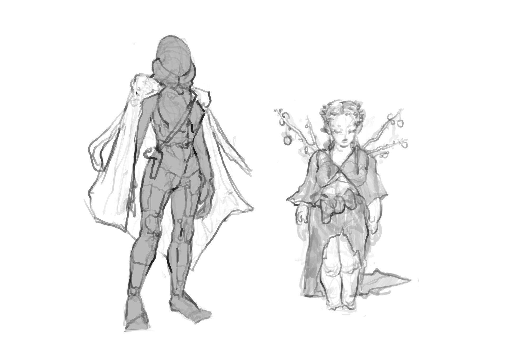 Madeline buanno character sketches