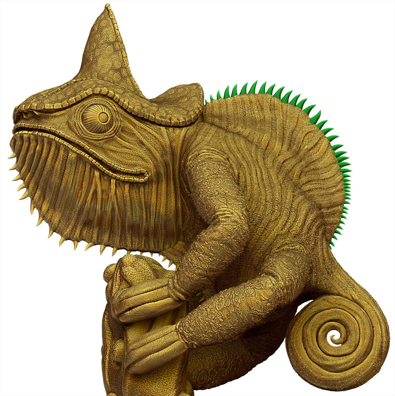 Lizard - Gold