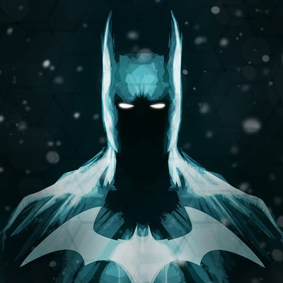 Ben laverock batman in snow