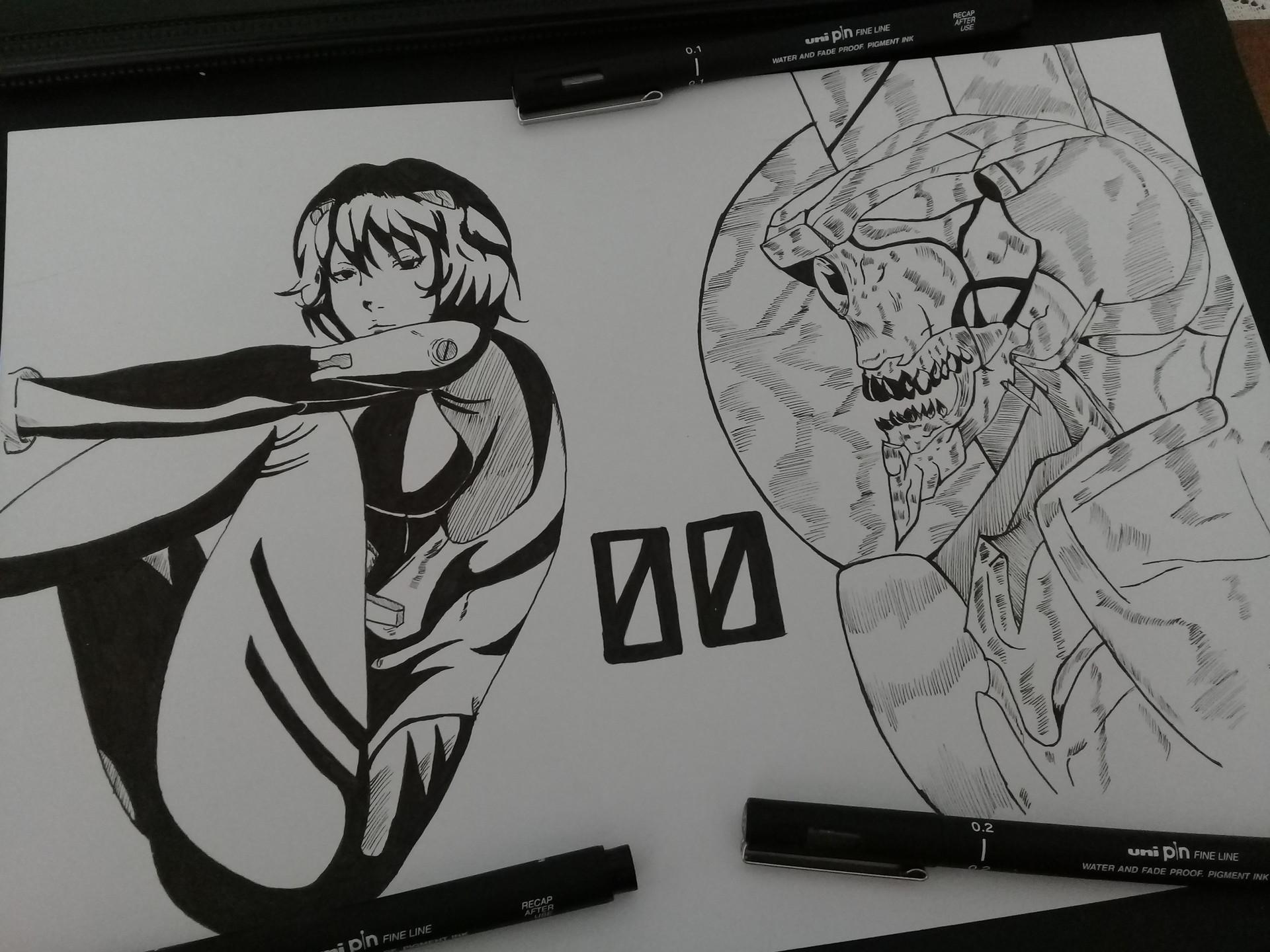 90620c8a92b21 Shoyuusha ⠀ - Rei Ayanami & EVA 00
