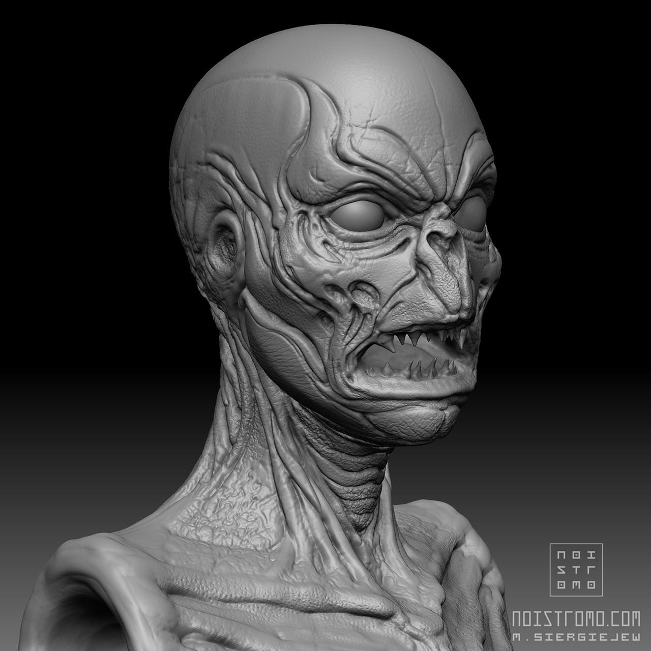 Marius siergiejew zombie mutant by noistromo wip zbshot 001