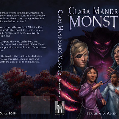 Aaron doyle clara mandrakes monster cover