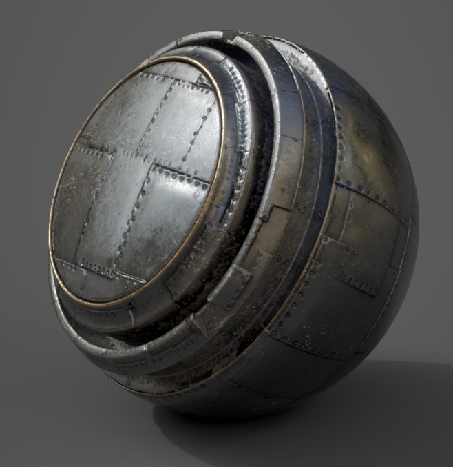 Meetmat ball from Substance Painter. Just testing the Substance Designer material.