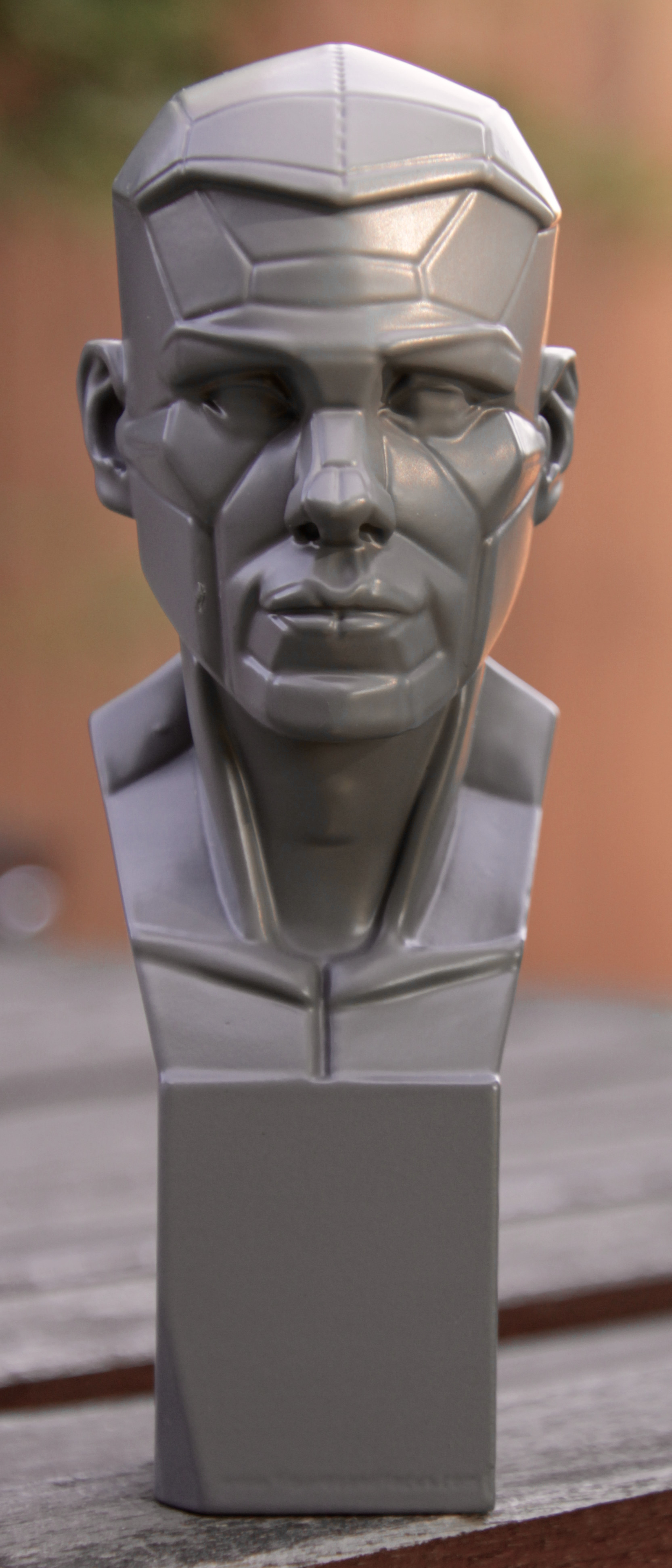 here's a photo of John Brown's head study model. very helpful!
