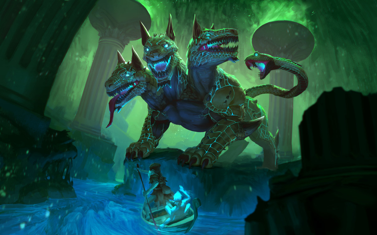 SMITE - Cerberus Splash Art