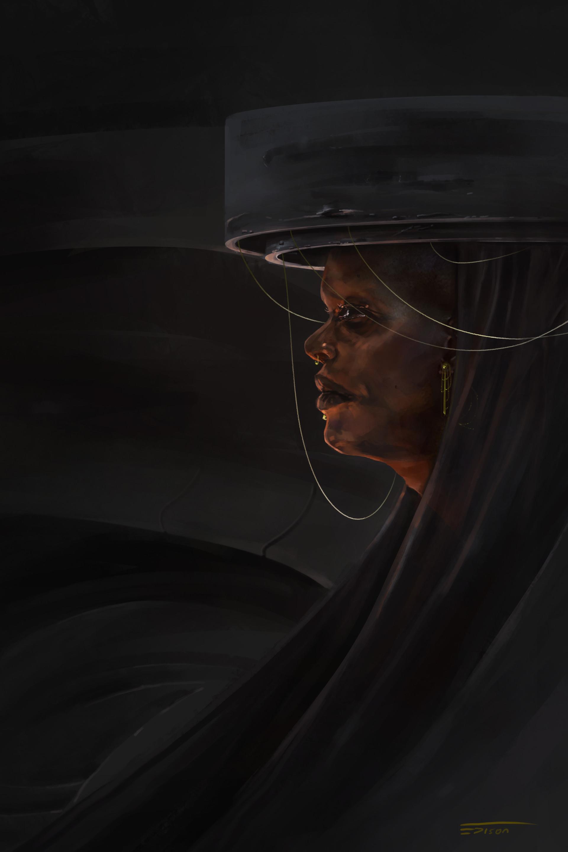 Edison moody helmet queen