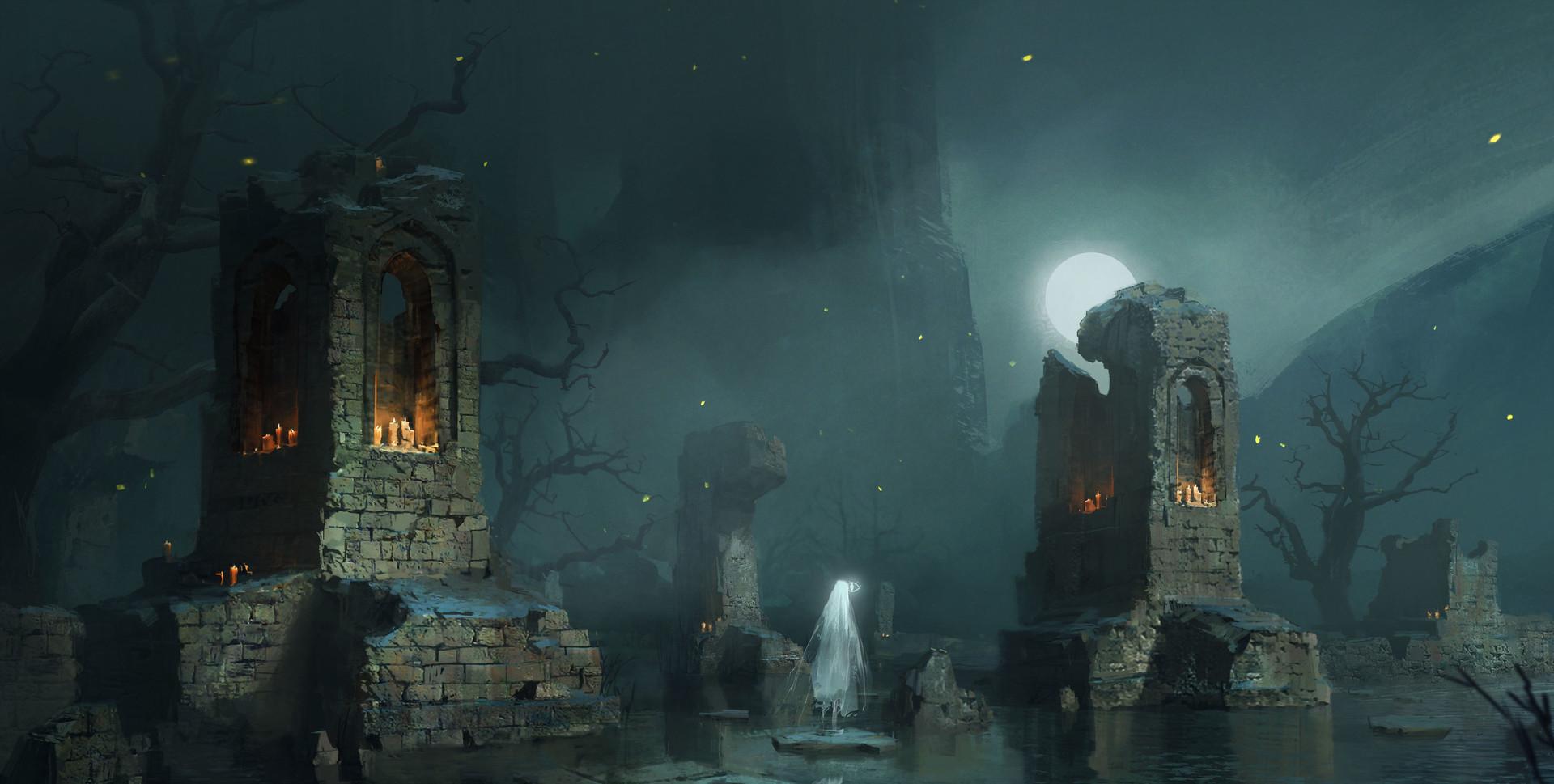Dylan scher ghost ruins
