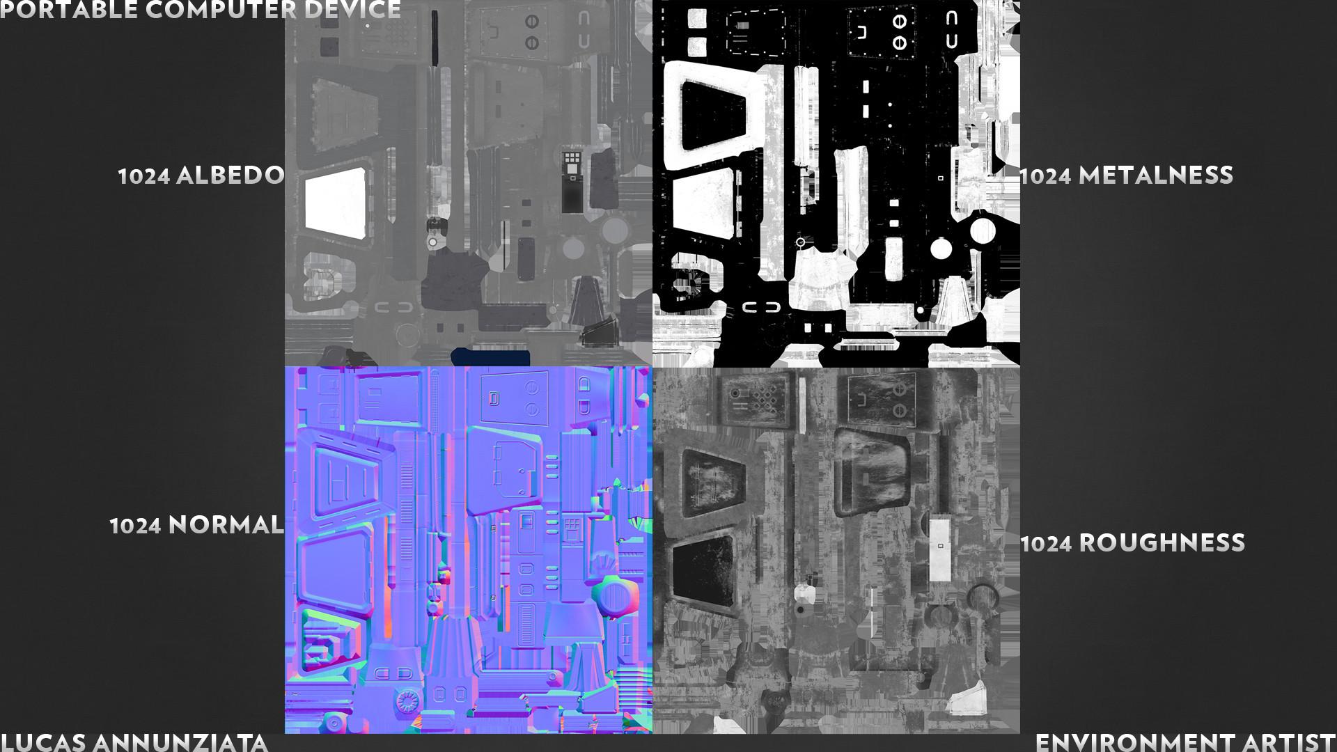 Lucas annunziata annunziata texturebreakdown