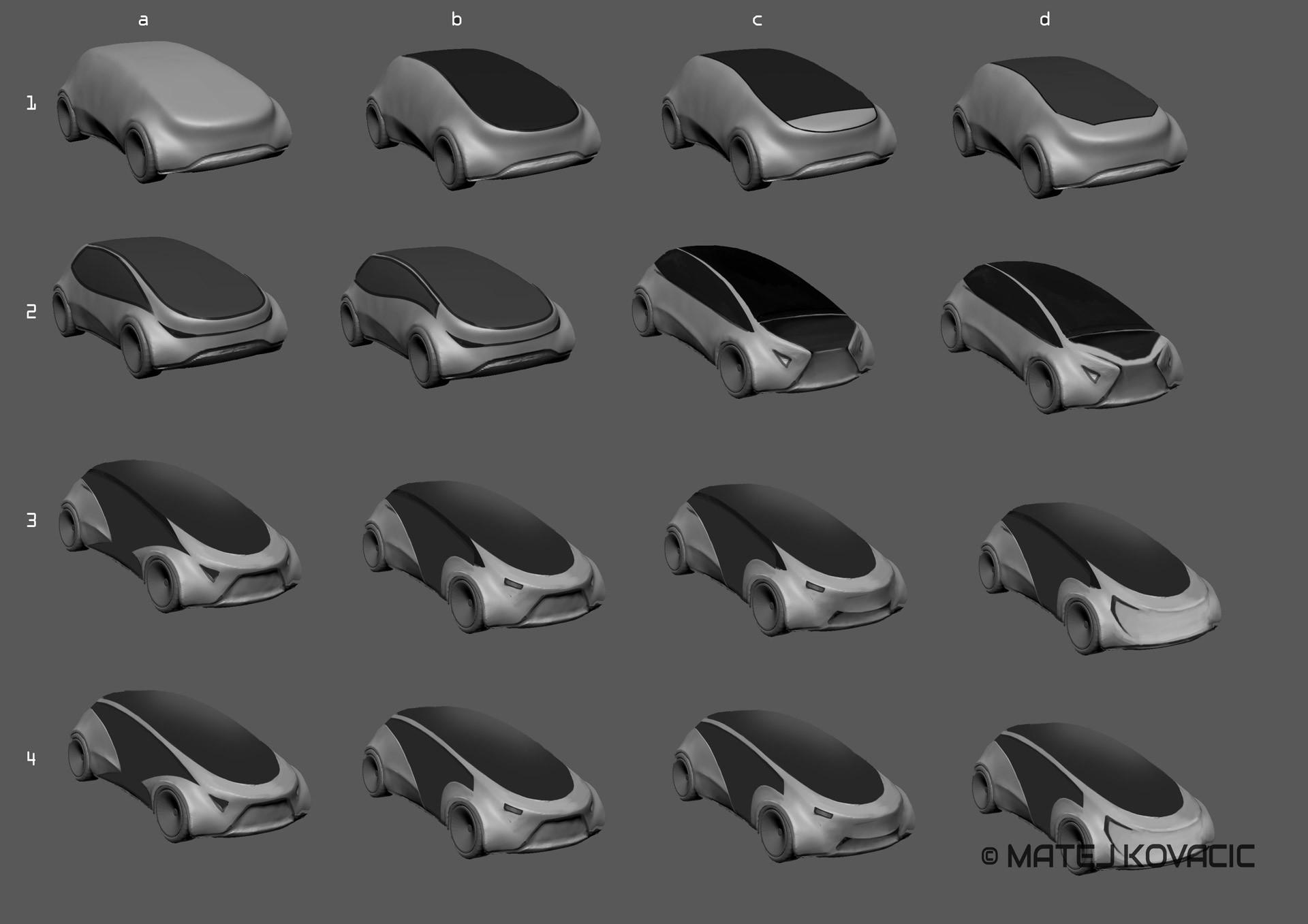 Matej kovacic hologram car concept by matej kovacic