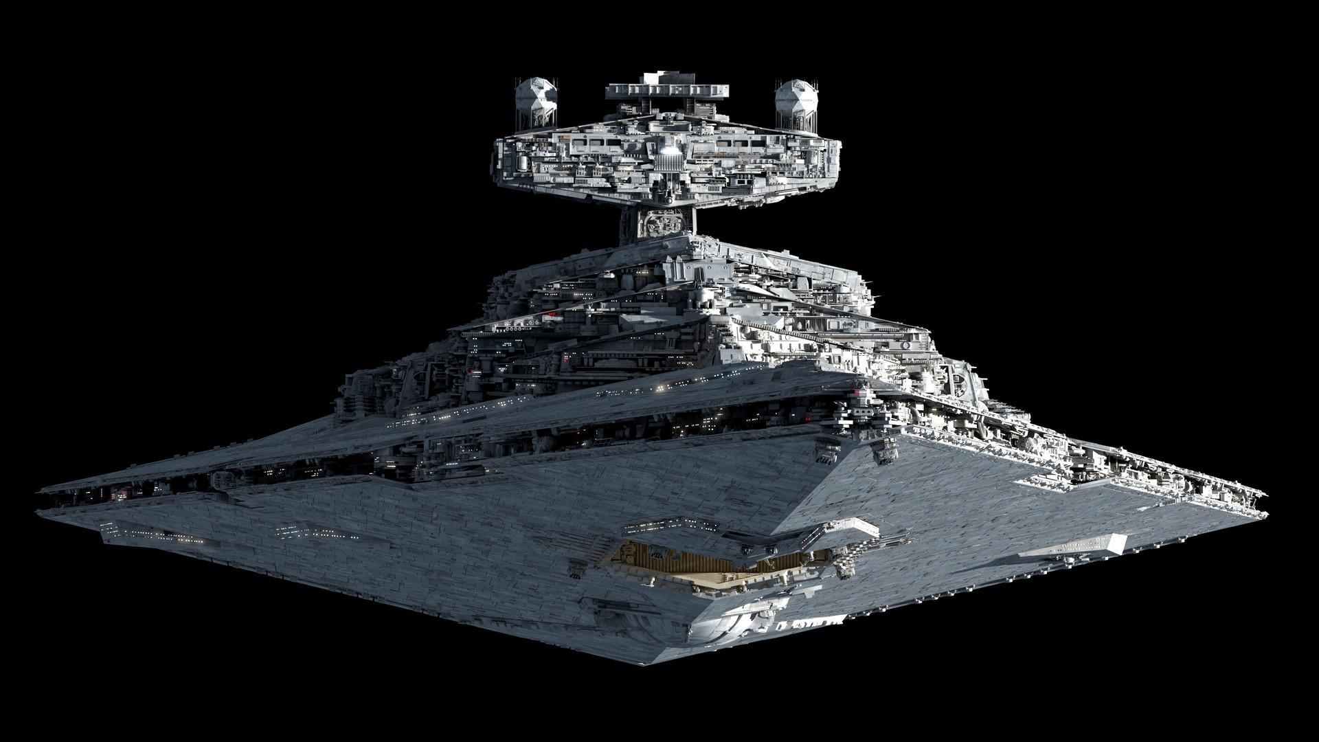 Artstation Imperial Star Destroyer 4k Ansel Hsiao