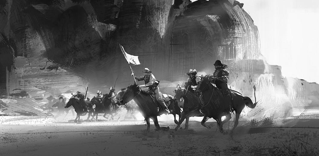 Liang mark wild west sketch