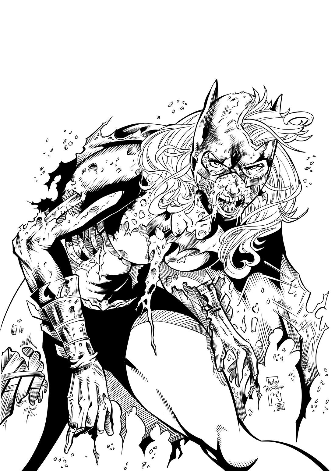 Batgirl Zombie