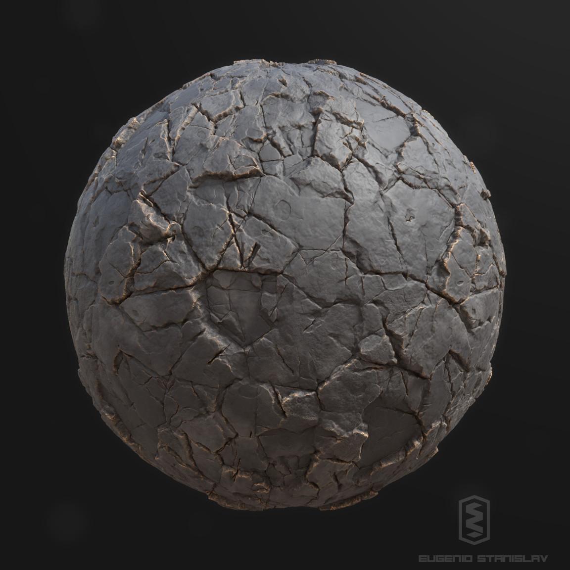 Eugenio stanislav stylized broken stone render s