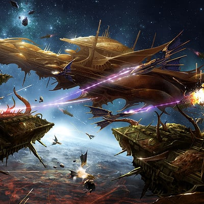 Emile denis armada of iyanden vs plague swarm