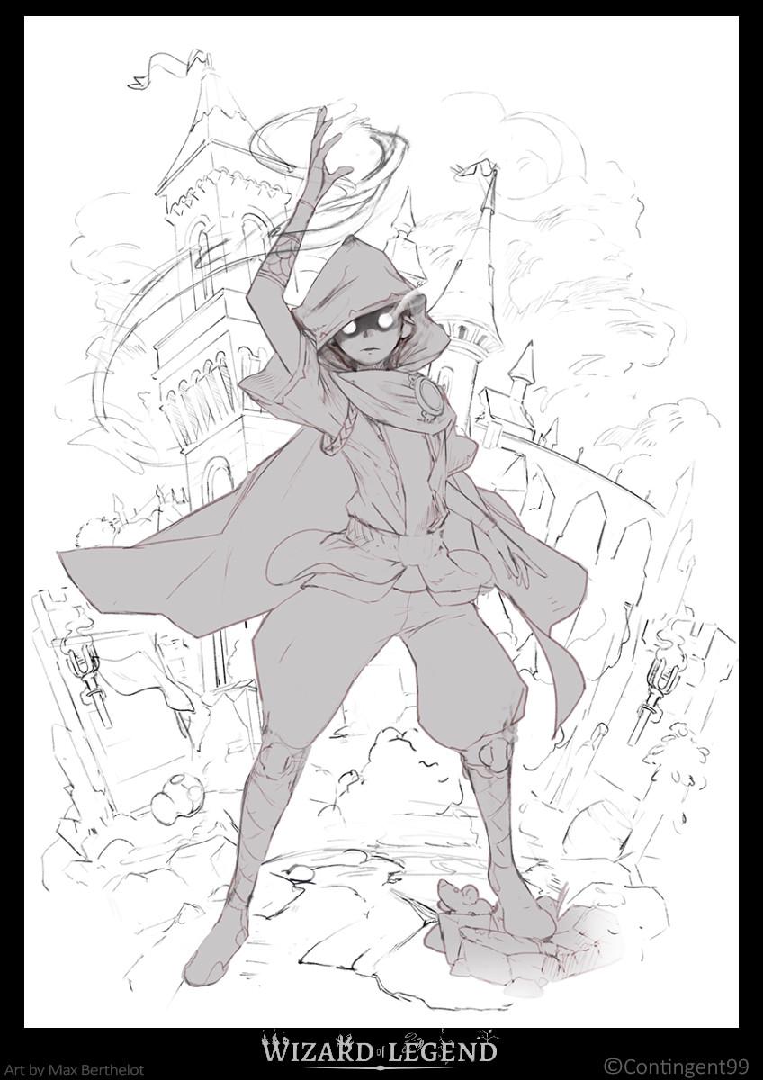 Concept Art Wizard Of Legend