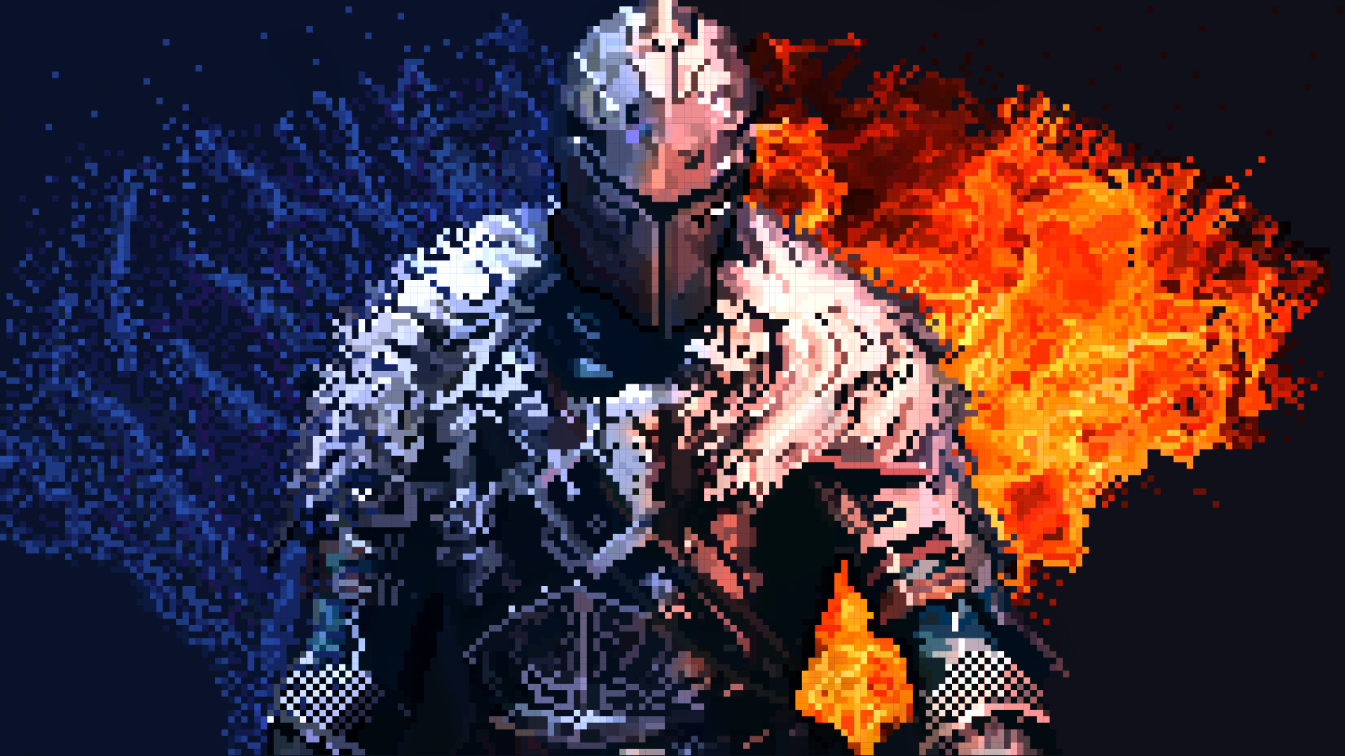 Artstation Dark Souls Pixel Art David Antunes