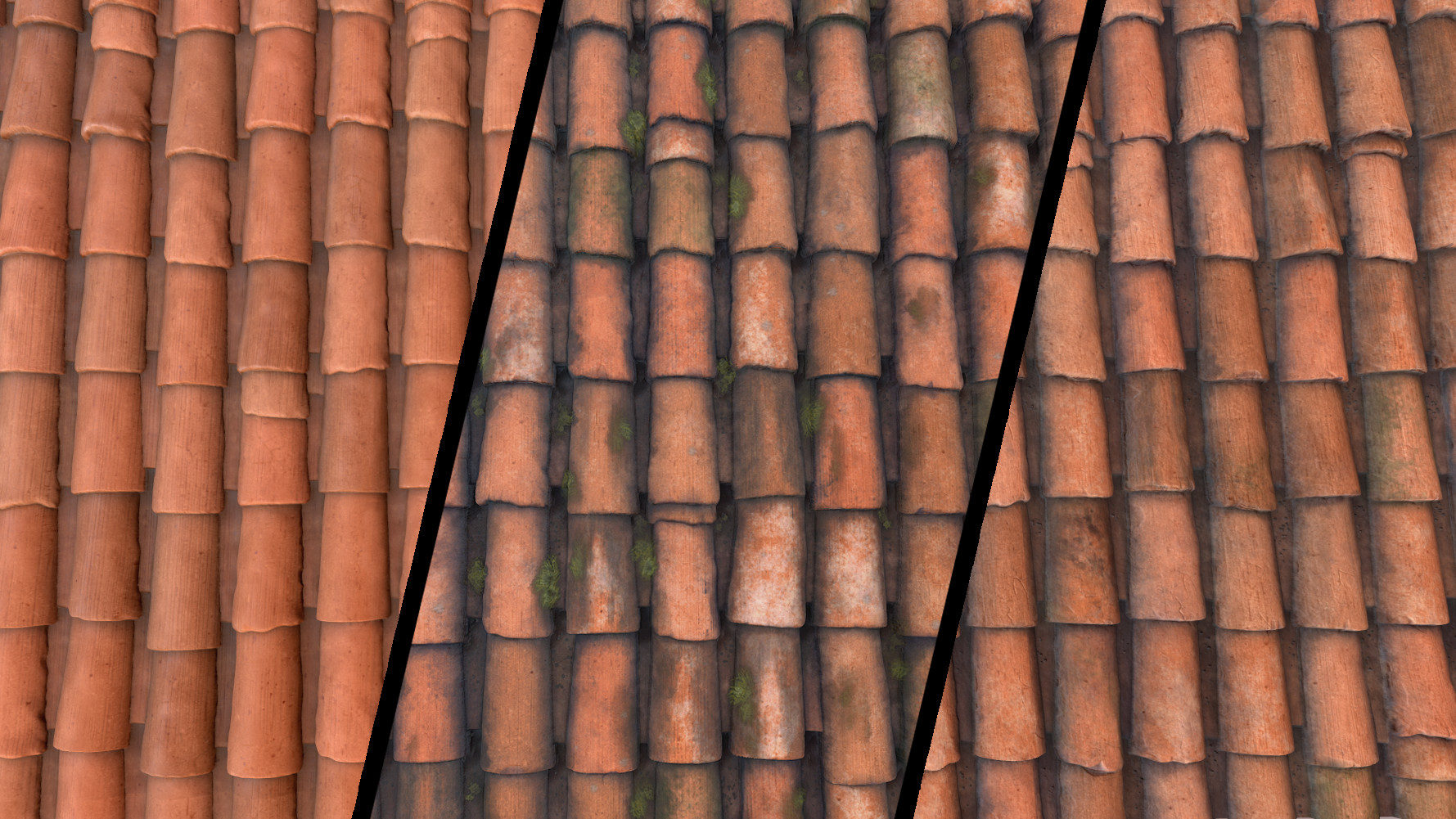 Alina godfrey roof tiles color variations closeup