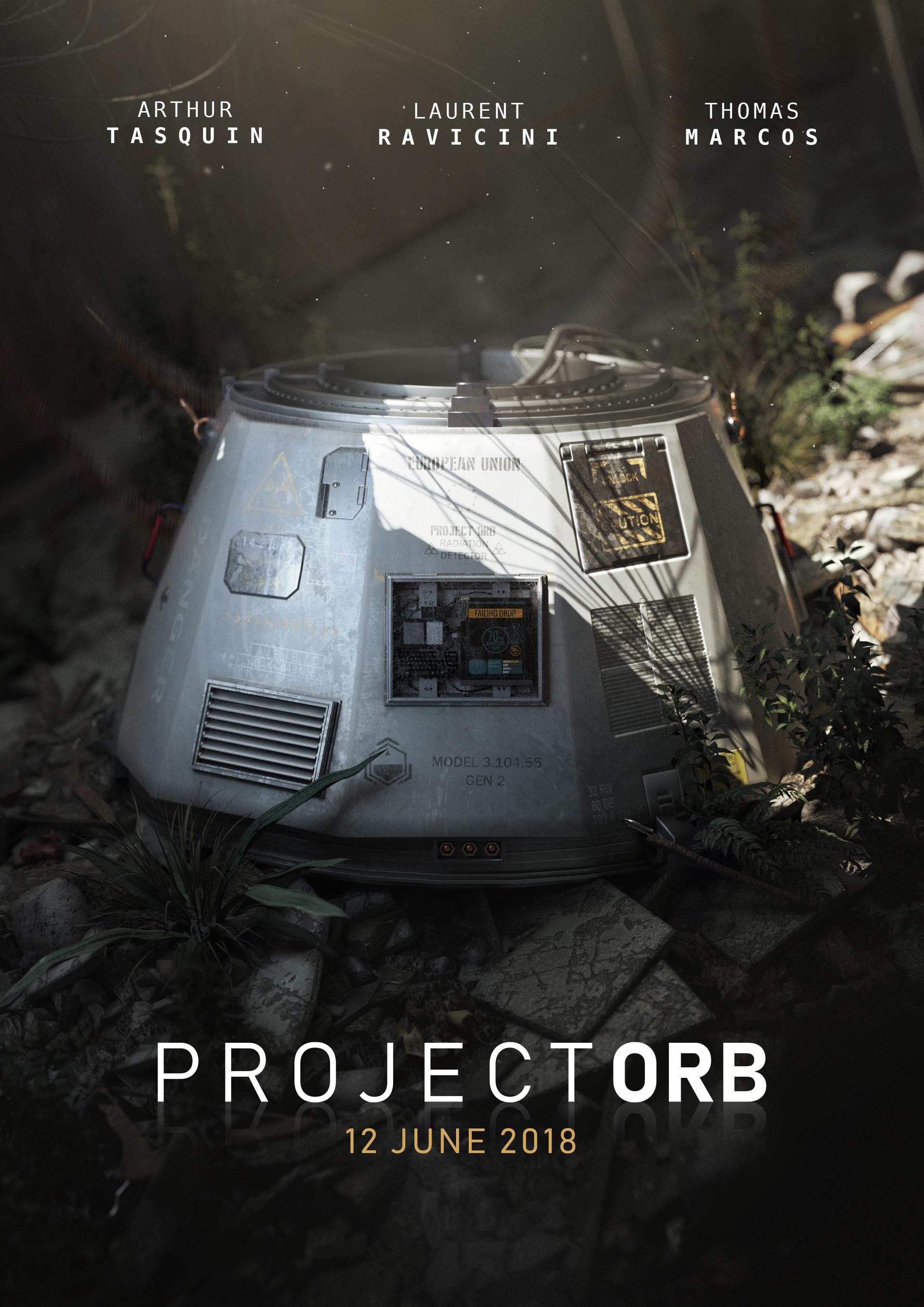 Artstation Project Orb Poster Arthur Tasquin