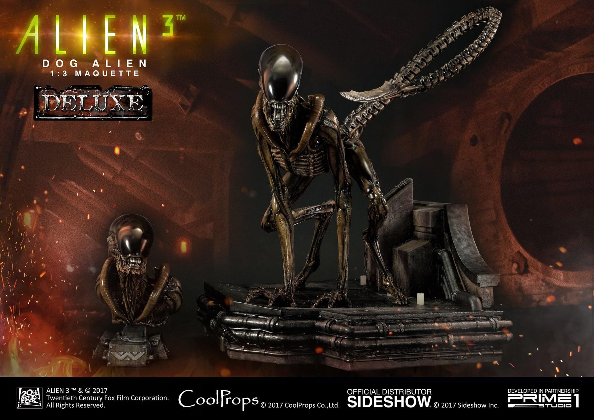 Abner marin alien 3 dog alien maquette 017