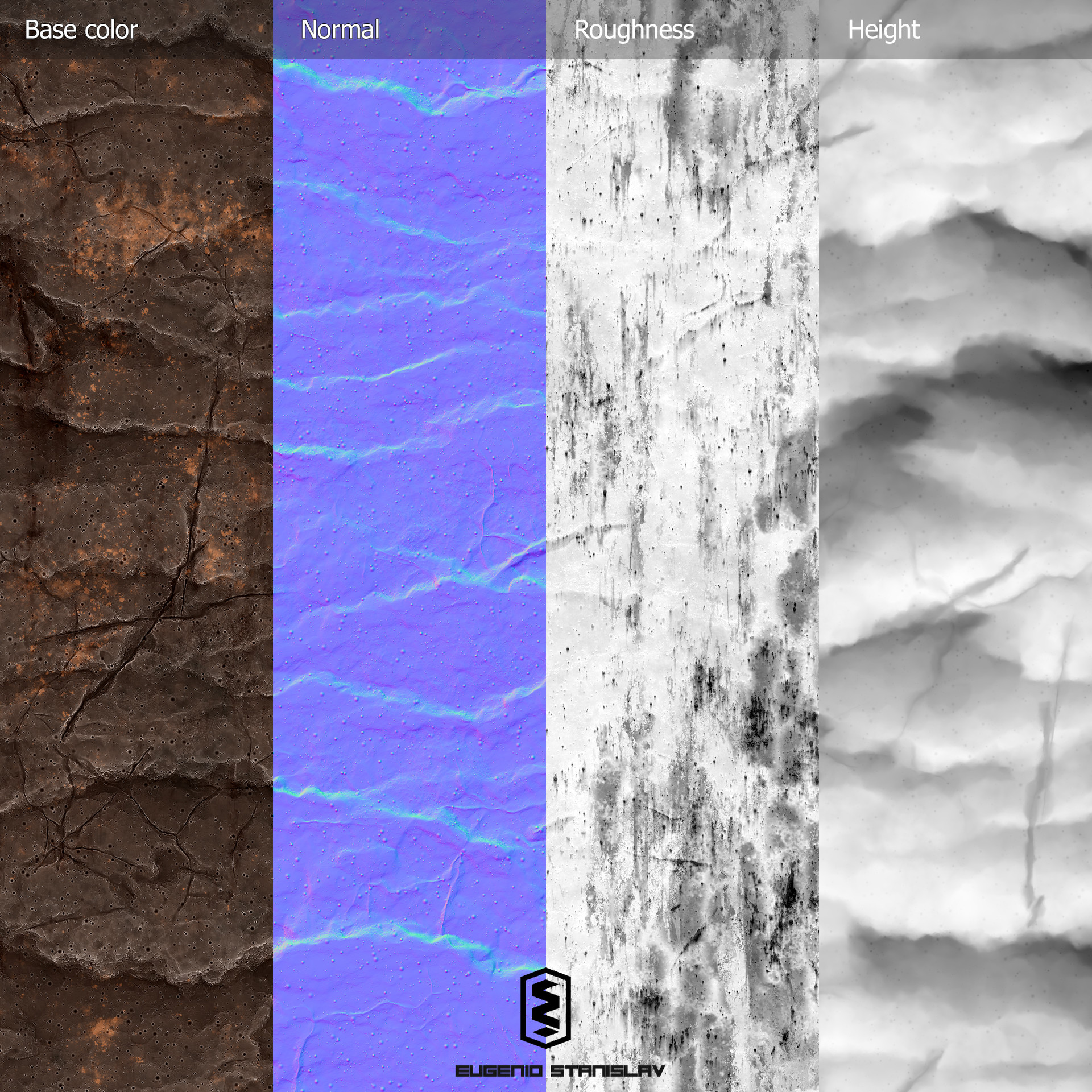 Eugenio stanislav stylized cliff maps