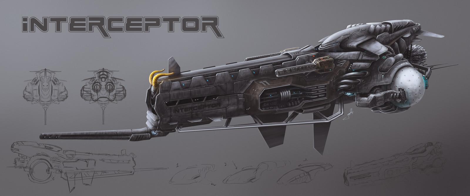 """Interceptor"" spacecraft"