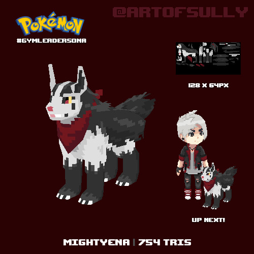Mightyena (#gymleadersona) - Part 2