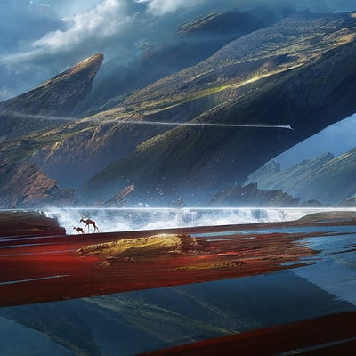 Jessica rossier lostland jessica rossier illustration high