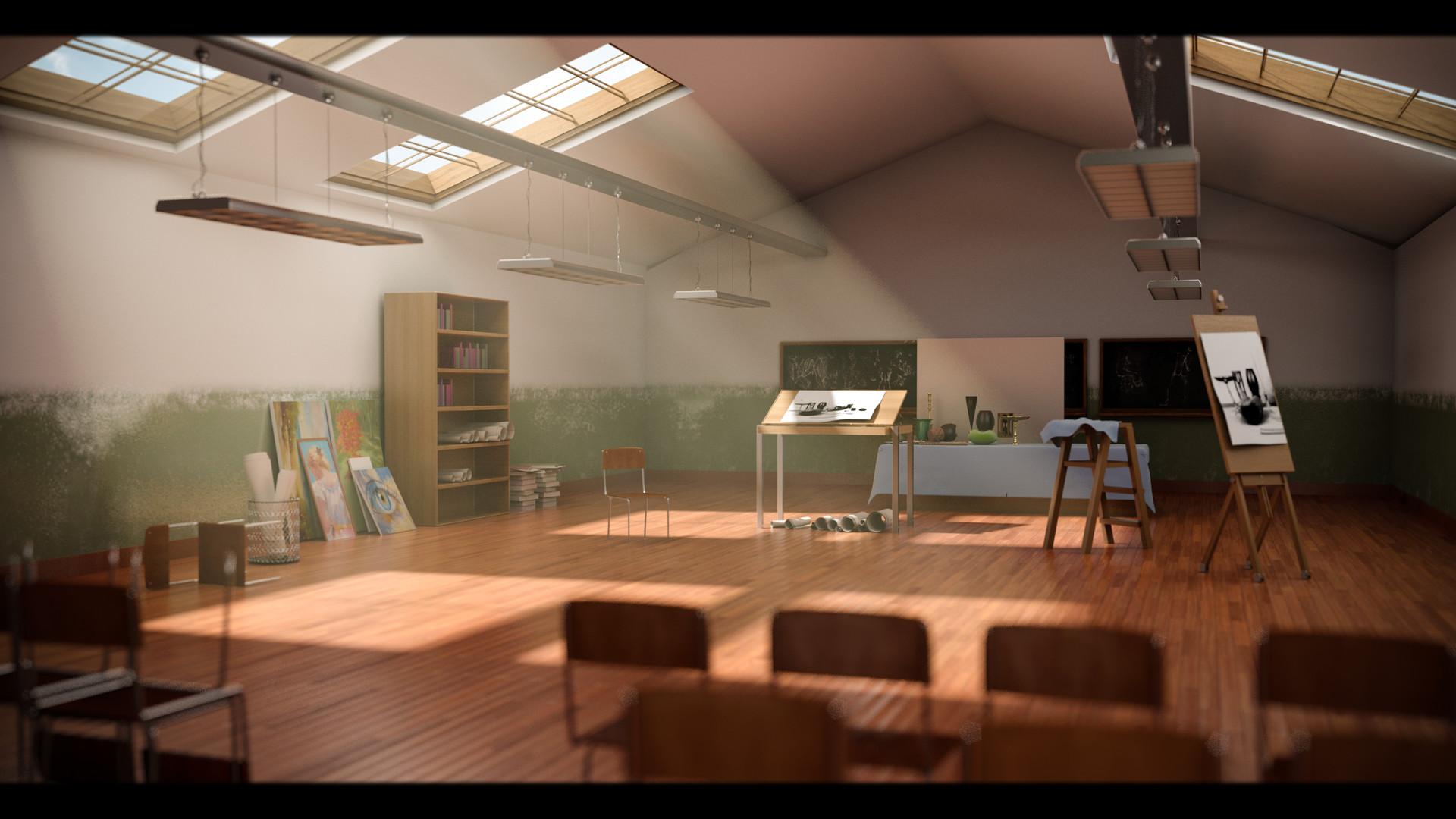 Parabhdeep singh art room v008