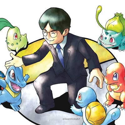 Nintendo Force Magazine - Iwata Tribute (Balloon Fight and Pokemon Sections)