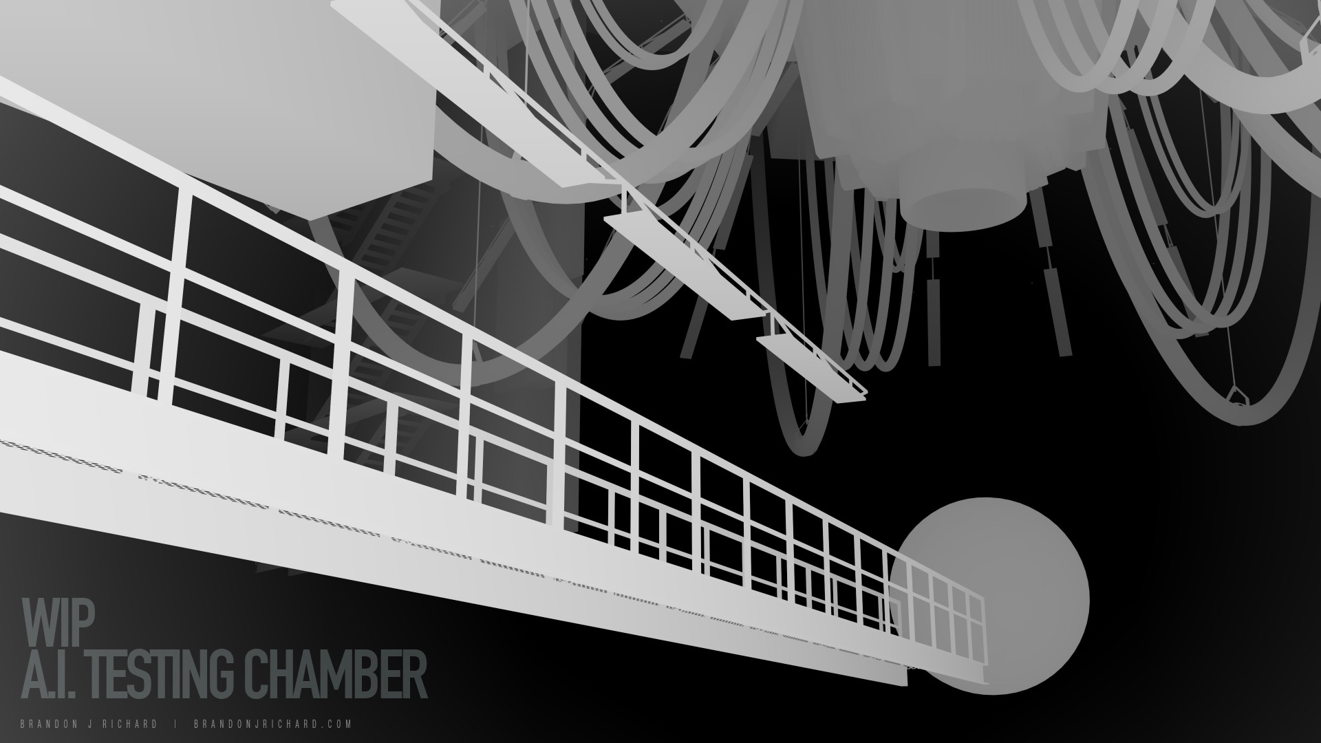 Brandon j richard ai test chamber 001 scene 1 wip rdepth pass
