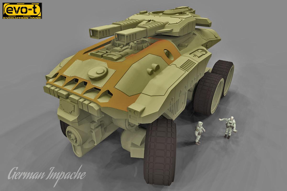 German impache scarabeo turbo tank4